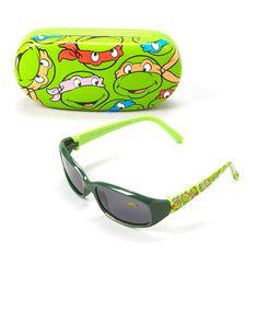 Look at this #zulilyfind! TMNT Sunglasses & Case by Pan Oceanic #zulilyfinds