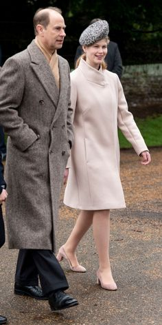 Prince Edward, Earl of Wessex and Lady Louise Windsor attend Christmas Day Church service at Church of St Mary Magdalene on the Sandringham estate on December 2018 in King's Lynn, England. (Photo by Mark Cuthbert/UK Press via Getty Images) Princess Alexandra, Princess Anne, Prince Edward Children, Prince William, Prince Edwards Daughter, Princesa Eugenie, Louise Mountbatten, St Mary Magdalene Church, Queen Victoria Prince Albert