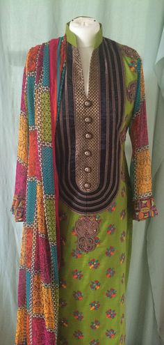 New Pakistani Indian Trouser Salwar Kameez Ready Made Stitched Suit