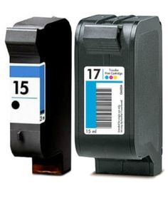 Buy #15 & #17 Ink Cartridge 2PK - 1B/1C for HP at LAinks.com. We offer to save 30-70% on ink and toner cartridges. 100% Satisfaction Guarantee.