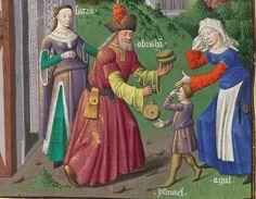 Le Mirouer historial de VINCENT de Beauvais, traduction de JEHAN DU VIGNAY 1401-1500  Français 50  Folio 44v