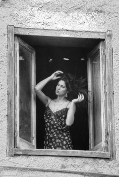 Monica Bellucci,Porticello,Sicily,Italia Ferdinando Scianna / Magnum photos 1991