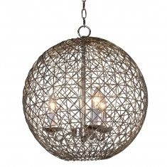 wire sphere decor - Google Search