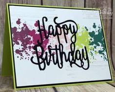 Image result for stampin up happy birthday gorgeous