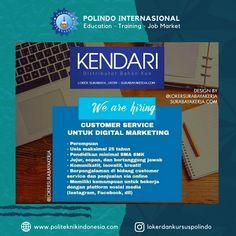 Lowongan kerja terbaru 2020 Cv Kendari Surabaya Surabaya, Marketing
