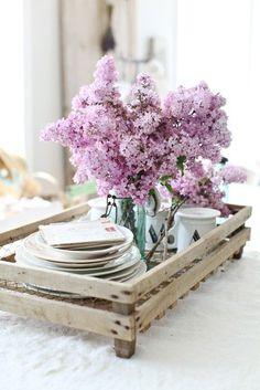French Breakfast Tray