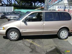 1993 Nissan Quest. First Quest Van I owned.
