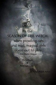Season Of The Witch, Tis The Season, Christopher Moore, Something Wicked, Magical Girl, Witchcraft, Virgo, Mystic, Seasons