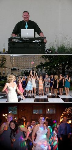 Cuttin The Rug DJ has been providing quality disc jockey entertainment for over 10 years. These professional DJs provide sound and lighting for weddings, school functions, and other events.