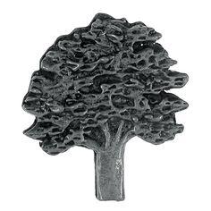 Oak Tree Lapel Pin From LapelPinPlanet.com. Hand Cast In Solid, Lead Free