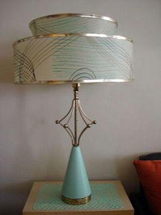 I painted the base before I got the shade! - Hillary #Lamps #modernfurniture