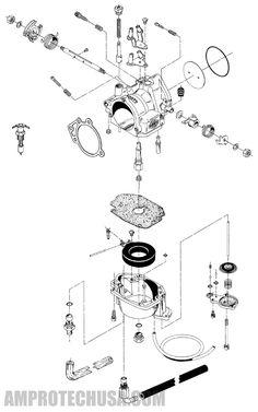 s&s e carburetor � super e diagram