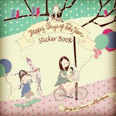 Caderno de adesivos com todos os momentos do ano! www.joypaper.com.br