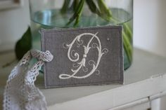 Add a decorative touch to any room with this charming monogrammed tag.The tag is made from stonewashed linen from Peony Cosy Corner, Handmade Tags, Handmade Design, Peony, Monogram, Pottery, Cottage, English, Touch