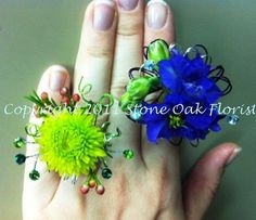 The Domestic Curator: PROM FLOWERS 2013: Bling's Still The Thing!
