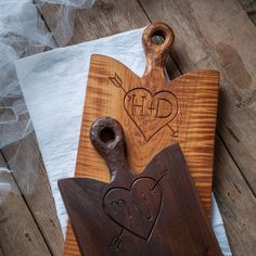 Cutting Board Carved with Initials | 35 Meaningful Personalized Gifts For Everyone In Your Life
