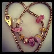 Image result for trollbeads golden necklace pictures