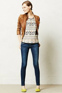 Totally want a cute, faux leather jacket!