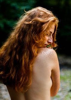 Pale busty redhead milf