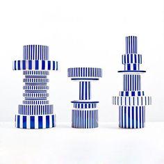 #NicholasKirkwoodInspiration. Vases Collection by #MatteoZorzenoni