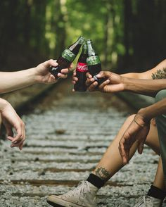 Life's better with friends. #CokeLife