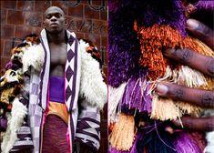 Buki Akib - FELA Autumn/Winter 2011 (Nigerian knitwear designer Buki Agbabiaka's senior fashion collection at Central Saint Martins based on the life, style and music of Nigerian Afro Beat legend Fela Anikulapo Kuti)