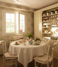 Shabby and Charme: Una bellissima villa a Monteclaro in Spagna