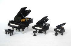 LEGO MOC, grand piano