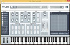 - A powerful sound synthesizer that was especially designed in order to bring you FM synthesis sound through a unique audio engine Native Instruments, Music Instruments, Rhythmic Pattern, Music App, Sound Design, Windows Xp, User Interface, Nativity, Audio
