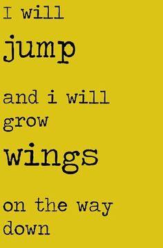 i will jump #favorite