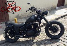 2 Virago 535, Yamaha Virago, Brat Cafe, Cafe Racing, Custom Choppers, Bobber Chopper, Custom Art, Motorbikes, Kayaking