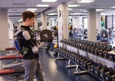 Battery-powered upper body exoskeleton Titan Arm wins James Dyson award | DamnGeeky