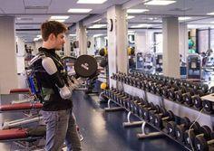 Battery-powered upper body exoskeleton Titan Arm wins James Dyson award | DamnGeeky