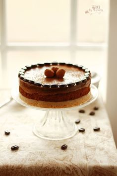 Tarta de trufa, crema almendras y café, Paul Bocuse, Reto Cooking The Chef, Nestlé, chocolate, chocolate Nestlé, Cacao Valor, Sweets and Gifts, granos cafe