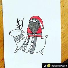 C'è aria di Natale in città! ...io mi sono già fatta dei regali da @nelbeautycase  #Repost @nelbeautycase (@get_repost) ・・・ Quanto è bello il buono regalo Natalizio  realizzato dalla mia amica @drawing.fish ????? Grazie  #natale #regalo #christmas #christmasiscoming #christmasgift #gift #illustration #illustrazione #instaillustration #art #arte #instaart #instaartist #draw #drawing #instadrawing #sketch #sketchbook #creative #creativity #pendrawing #drawingfish