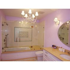 Cool Teen Bathrooms ❤ liked on Polyvore featuring house, bathrooms and pictures