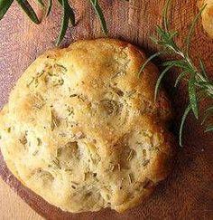 Focaccia di ceci al rosmarino e aglio - Cucina Naturale