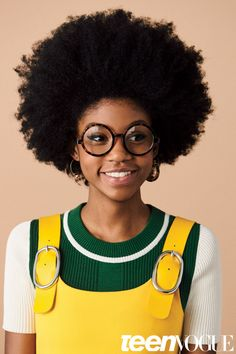 """tomboybklyn: """" round glasses and afros… LOVE! """""""