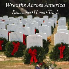 Wreaths Across America, National Cemetery, 50 States, Pillar Candles, Around The Worlds, Military, Organization, Sea, American