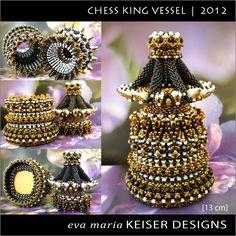 Eva Maria Keiser Designs: Chess Piece Series - King    2012