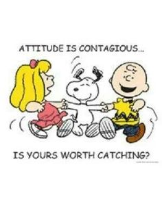 Good grief Charlie Brown, way to be Happy.