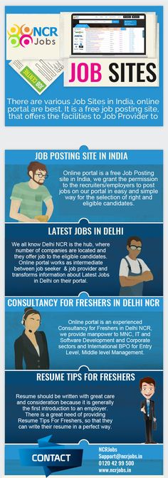 Resume Posting Sites There Are Lots Of #freejobsites In Indiathey Are Offering The .
