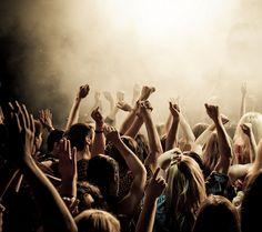 Image result for rock concert audience
