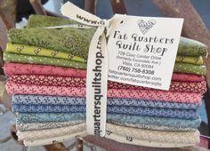 These fabulous fabrics are a fat quarter bundle of Paula Barnes Companions for Marcus Fabrics - 12 fat quarters per bundle...