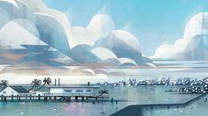 Artes de Joey Chou para o filme VIVO, da Sony Animation | THECAB - The Concept Art Blog 1 Peter, Joey Chou, Studios, Sony, Visual Development, Art Blog, Great Artists, Concept Art, Animation
