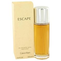 Beauty & Fragrance Escape By Calvin Klein Eau De Parfum Spray Oz For Women This fragrance was released in It s a timeless and dreamy flowery fresh perfume for women. Very sensual and romantic, this blend is complex and exciting. Perfume Diesel, Best Perfume, Perfume Bottles, Perfume Fragrance, Perfume Genius, Perfume Versace, Hermes Perfume, Jennifer Aniston, Lotions