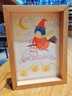 Have a Happy and Safe Halloween! http://www.muji.us/store/beech-photo-frame-post-card-size-natural.html