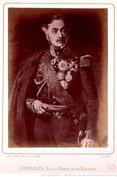 Louis Marie Baptiste, baron Atthalin, né à Colmar (Haut-Rhin) le 22 juin 1784 et décédé dans la même ville le 3 septembre 1856, est un général et homme politique français, qui se distingua également comme peintre, lithographe et aquarelliste. L'Empereur ayant eu occasion de remarquer le jeune capitaine, le prit au nombre de ses officiers d'ordonnance, le 14 avril 1811, et le nomma chef de bataillon le 18 novembre 1813, et colonel le 15 mars 1814.