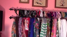Organize Your Scarves And Headbands