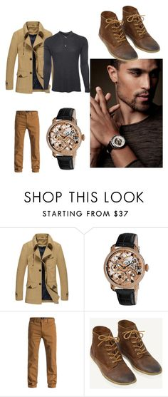 """""""Stylish men"""" by maris-lember on Polyvore featuring Akribos XXIV, DC Shoes, Fat Face, Marc Jacobs, men's fashion and menswear"""